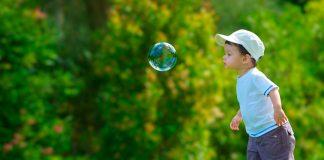 Ideas para jugar con burbujas