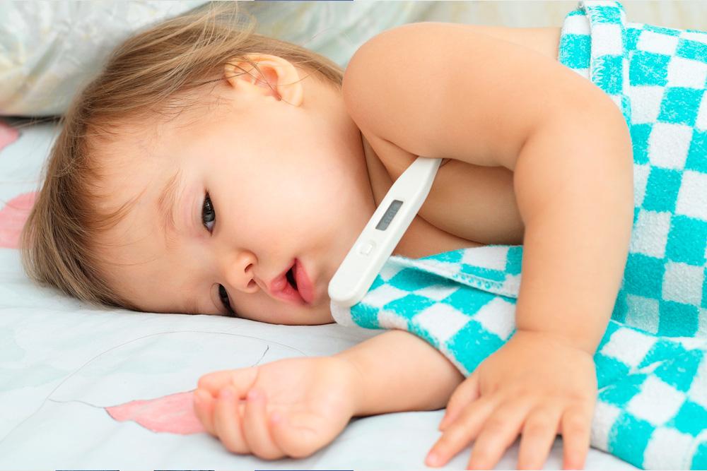 mi hijo tiene fiebre