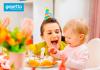 celebrar el primer año de tu bebé